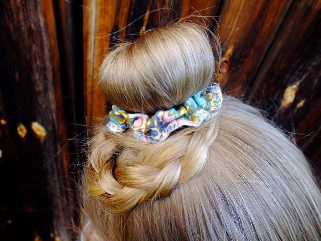 Gumki do włosów DIY