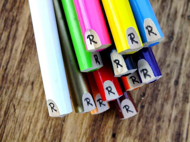 Jak oznaczyć kredki DIY