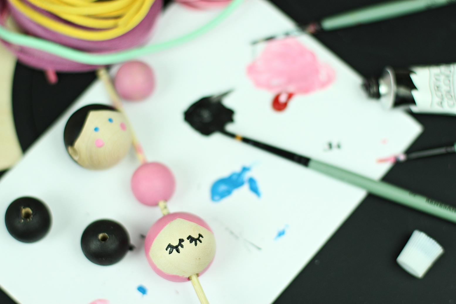Naszyjnik dla dzieci DIY